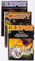 Magazines:Horror, Eerie/Creepy Group of 19 (Warren, 1960s-70s) Condition: Average GD/VG.... (Total: 19 Comic Books)