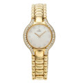 Estate Jewelry:Watches, Ebel Lady's Diamond, Mother-of-Pearl, Gold Beluga Watch. . ...