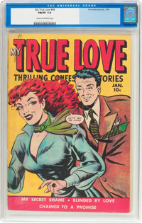 My True Love #68 (Fox Features Syndicate, 1950) CGC FN/VF 7.0 Cream to off-white pages