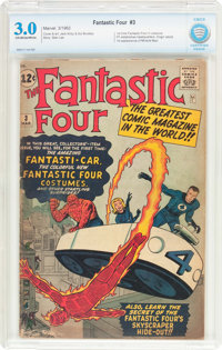 Fantastic Four #3 (Marvel, 1962) CBCS GD/VG 3.0 Off-white to white pages