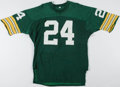 Football Collectibles:Uniforms, 1970's Packers Style Durene Jersey. ...