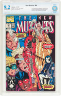 Modern Age (1980-Present):Superhero, The New Mutants #98 (Marvel, 1991) CBCS NM- 9.2 Off-white to whitepages....