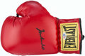 Boxing Collectibles:Autographs, Muhammad Ali Signed Everlast Glove. ...