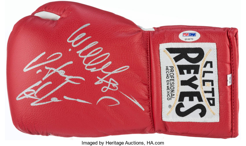 Vitali Klitschko and Wladimir Klitschko Signed Boxing Glove