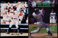 Baseball Collectibles:Publications, Alfonso Soriano Signed Photograph and Jeff Bagwell Signed SpringTraining Program. ...