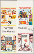 "Movie Posters:Adventure, Mutiny on the Bounty & Others Lot (MGM, 1962). Window Cards (4)(14"" X 22""). Adventure.. ... (Total: 4 Items)"