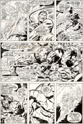 Original Comic Art:Panel Pages, Rich Buckler and Joe Sinnott Fantastic Four #156 Pages 16-17Original Art (Marvel, 1975).... (Total: 2 Original Art)