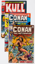 Bronze Age (1970-1979):Adventure, Conan the Barbarian/Kull the Conqueror Group of 6 (Marvel, 1970-71).... (Total: 6 Comic Books)