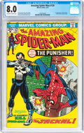 Bronze Age (1970-1979):Superhero, The Amazing Spider-Man #129 (Marvel, 1974) CGC VF 8.0 Off-white to white pages....