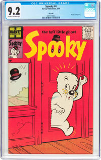 Spooky #4 File Copy (Harvey, 1956) CGC NM- 9.2 Cream to off-white pages
