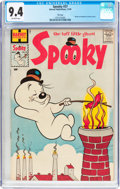 Silver Age (1956-1969):Humor, Spooky #37 File Copy (Harvey, 1959) CGC NM 9.4 Off-white pages....