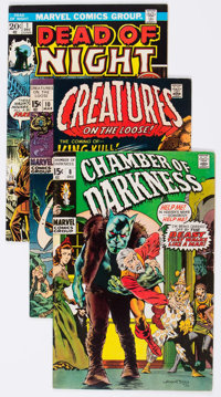 Marvel Bronze Age Horror Comics Group of 36 (Marvel, 1970s) Condition: Average FN.... (Total: 36 Comic Books)
