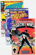 Modern Age (1980-Present):Miscellaneous, Marvel Bronze and Modern Age Comics Box Lot (Marvel, 1970s-80s) Condition: Average FN....
