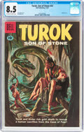 Silver Age (1956-1969):Adventure, Turok, Son of Stone #23 (Dell, 1961) CGC VF+ 8.5 Off-white to white pages....