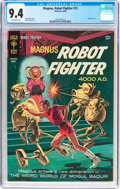 Silver Age (1956-1969):Science Fiction, Magnus Robot Fighter #15 (Gold Key, 1966) CGC NM 9.4 Off-white pages....