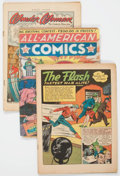 Golden Age (1938-1955):Miscellaneous, Comic Books - Assorted Golden and Silver Age Comics Box Lot (Various Publishers, 1940s-60s) Condition: Incomplete....