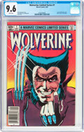 Modern Age (1980-Present):Superhero, Wolverine #1 (Marvel, 1982) CGC NM+ 9.6 White pages....