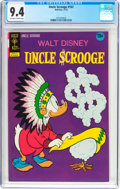 Bronze Age (1970-1979):Cartoon Character, Uncle Scrooge #102 (Gold Key, 1972) CGC NM 9.4 Off-white to white pages....