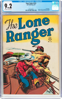 Four Color #151 The Lone Ranger (Dell, 1947) CGC NM- 9.2 Off-white to white pages