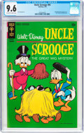 Bronze Age (1970-1979):Cartoon Character, Uncle Scrooge #85 (Gold Key, 1970) CGC NM+ 9.6 Off-white to white pages....