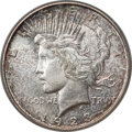 Peace Dollars, 1923-D $1 MS66+ PCGS. CAC....
