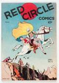 Golden Age (1938-1955):Miscellaneous, Red Circle Comics #4 rebound (Rural Home, 1945) Condition: VF/NM....