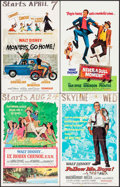 """Movie Posters:Comedy, Lt. Robin Crusoe, U.S.N. & Others Lot (Buena Vista, 1966). Window Cards (13) (14"""" X 22""""). Comedy.. ... (Total: 13 Items)"""