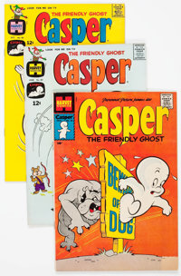 Friendly Ghost Casper File Copies Box Lot (Harvey, 1957-81) Condition: Average VF/NM