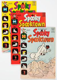Spooky Spooktown File Copies Box Lot (Harvey, 1969-76) Condition: Average VF/NM