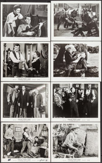"Decision at Sundown & Others Lot (Columbia, 1957). Photos (24) (8"" X 10""), Trimmed Photos (2) (approx. 7&q..."