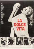 """Movie Posters:Foreign, La Dolce Vita & Others Lot (Cineriz, 1959). Trimmed Poster (27"""" X 39"""") & Posters (9) (30"""" X 40""""). Foreign.. ... (Total: 10 Items)"""
