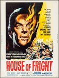 "Movie Posters:Horror, Jekyll's Inferno (American International, 1960). Poster (30"" X 40""). Horror. Alternate Title: House of Fright.. ..."