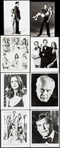 """Movie Posters:James Bond, The Spy Who Loved Me (United Artists, 1977). Photos (12) (8"""" X 10""""), Newswire Photos (2) (7"""" X 9.5"""" & 7"""" X 10""""), Publicity P... (Total: 32 Items)"""