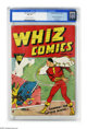 Whiz Comics #2 (#1) (Fawcett, 1940) CGC FN- 5.5 Off white to white pages. Gangway for Captain Marvel, Billy Batson, Spy...