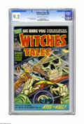 Golden Age (1938-1955):Horror, Witches Tales #20 File Copy (Harvey, 1953) CGC NM- 9.2 Cream tooff-white pages. Lee Elias, Howard Nostrand, Bob Powell, and...
