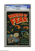 Golden Age (1938-1955):Horror, Worlds of Fear #4 Crowley Copy pedigree (Fawcett, 1952) CGC NM- 9.2Off-white to white pages. For nine issues, Fawcett produ...