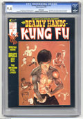 Magazines:Superhero, The Deadly Hands of Kung Fu #14 (Marvel, 1975) CGC NM 9.4 Whitepages. Special Bruce Lee issue. Neal Adams cover. Howard Cha...