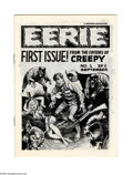 Magazines:Horror, Eerie #1 First Printing (Warren, 1965) Condition: NM-. This is the first time we've seen a first printing of this premiere i...