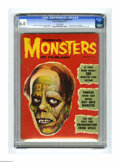 """Magazines:Horror, Famous Monsters of Filmland #3 (Warren, 1959) CGC FN 6.0 Off-white pages. Tougher to find than #2, this issue is """"extremely ..."""