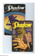 Pulps:Detective, Shadow Pulp Group (Street & Smith, 1934-38). This lot consistsof two issues, from May 1, 1934 (VG-) and Sept. 1, 1938 (VG)....(Total: 2 Items)