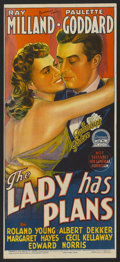 "Movie Posters:Comedy, The Lady has Plans (Paramount, 1942). Australian Daybill (13"" X30""). Comedy. ..."