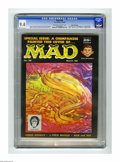 Magazines:Mad, Mad #38 Gaines File pedigree (EC, 1958) CGC NM 9.4 Off-white towhite pages. This issue contains a Mike Wallace spoof, and
