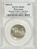 Statehood Quarters: , 2004-D 25C Wisconsin MS69 PCGS. Michael Fuller Collection. PCGSPopulation (18/0). (#14033)...