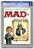 Magazines:Mad, Mad #48 Gaines File pedigree (EC, 1959) CGC NM/MT 9.8 Off-white towhite pages. How could a 40-year-old magazine with a whit...