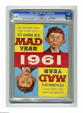 Magazines:Mad, Mad #61 Gaines File pedigree (EC, 1961) CGC NM/MT 9.8 White pages.This issue features a Playboy magazine spoof, and an ...