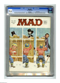 Magazines:Mad, Mad #85 Gaines File pedigree (EC, 1964) CGC NM+ 9.6 White pages.Dick Tracy and Popeye parodies. Norman Mingo cover. Mort Dr...