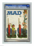 Magazines:Mad, Mad #88 Gaines File pedigree (EC, 1964) CGC NM+ 9.6 Off-white towhite pages. Only Alfred E. Neuman would celebrate the 4th ...