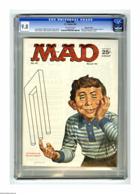 Mad #93 Gaines File pedigree (EC, 1965) CGC NM/MT 9.8 Off-white pages. Even if you think M. C. Escher is a rapper, you'l...