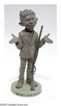 Memorabilia:Mad, Alfred E. Neuman Statue (Warner Bros., 1993). With his gapped teeth, big ears and bolla tie, this odd fellow in tennis shoes...
