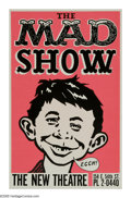 "Memorabilia:Mad, The Mad Show Poster (1966). Years before ""Mad TV"" came thisBroadway production, loaded with insane dialog and funny songs. ..."